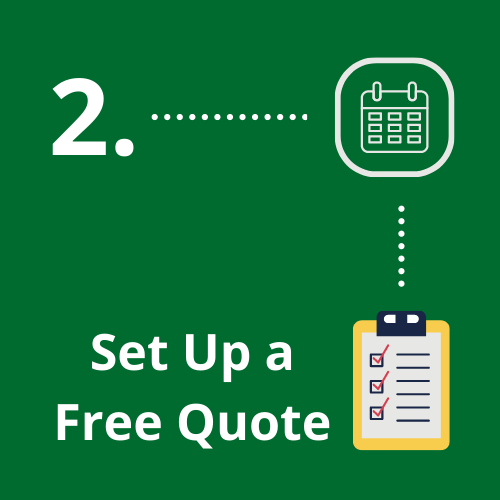 2. Set up free quote pic